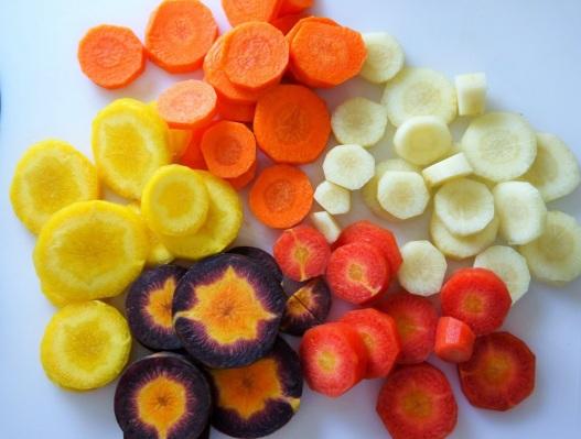 1 Carrot cut