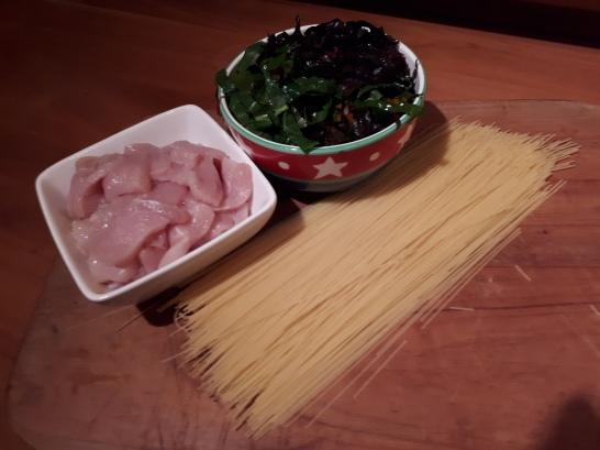 chicken green vermicelli