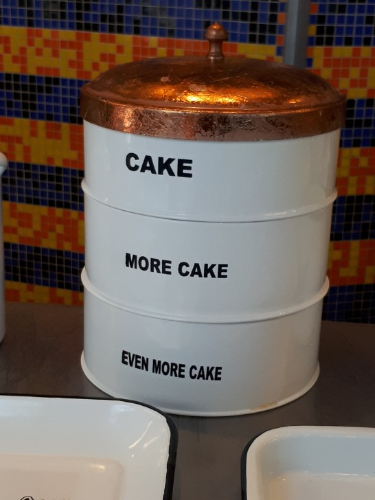 A cake tin I wanted to pinch