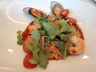 Seafood and Risoni