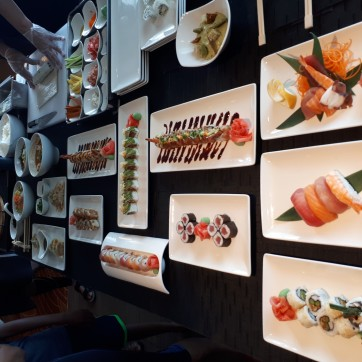 The full Sushi selection