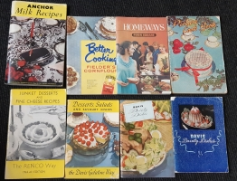 More retro Cook books for my colleftion